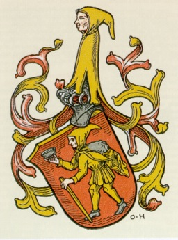 Gensfleisch coat of arms
