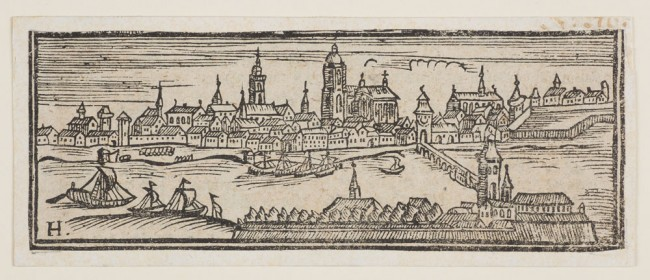 woodcut depiction of Frankfurt-am-Main