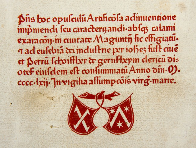 Schoeffer's printer's signet